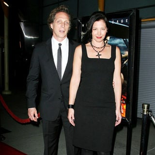 "William Fichtner, Kymberly Kalil in Los Angeles Screening of ""Drive Angry"""