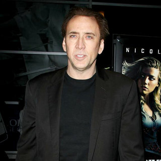 "Nicolas Cage in Los Angeles Screening of ""Drive Angry"""