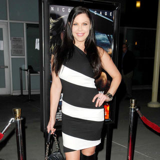 "Christa Campbell in Los Angeles Screening of ""Drive Angry"""
