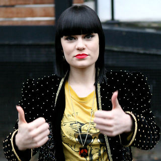 Jessie J Outside The ITV Television Studios