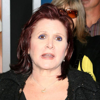 "Carrie Fisher in Los Angeles Premiere of Warner Bros. Pictures' ""Hall Pass"""