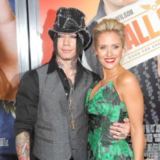 "DJ Ashba, Nicky Whelan in Los Angeles Premiere of Warner Bros. Pictures' ""Hall Pass"""