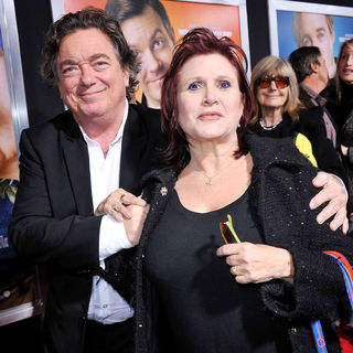 "Carrie Fisher in Los Angeles Premiere of Warner Bros. Pictures' ""Hall Pass"" - wenn3223496"
