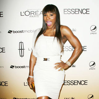 Serena Williams in 4th Annual ESSENCE Black Women In Hollywood Luncheon