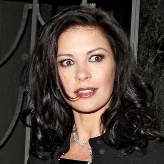 Catherine Zeta-Jones in Catherine Zeta-Jones Leaving Claridge's Hotel