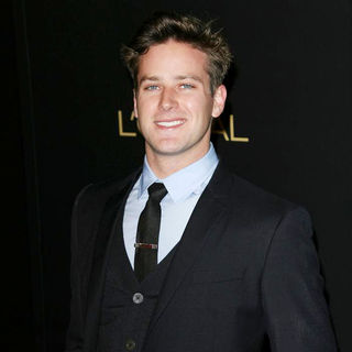 Armie Hammer in The Hollywood Reporter's Nominees' Night