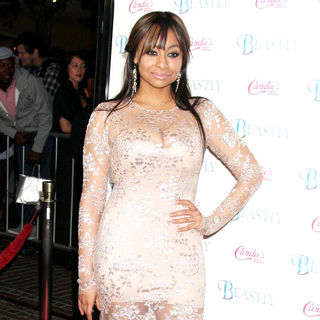Raven-Symone in Candie's Presents The Los Angeles Premiere of 'Beastly' - Arrivals