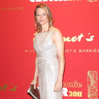 Jodie Foster in The 36th Annual Cesar Awards 2011 - Press Room