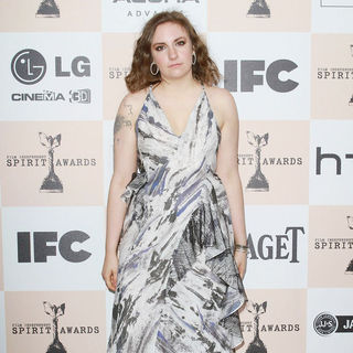 Lena Dunham in The 2011 Film Independent Spirit Awards - Arrivals
