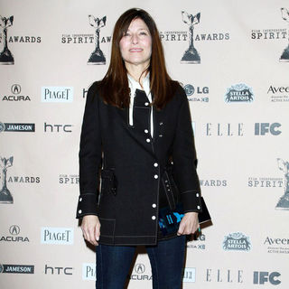 Catherine Keener in The 2011 Film Independent Spirit Awards - Press Room