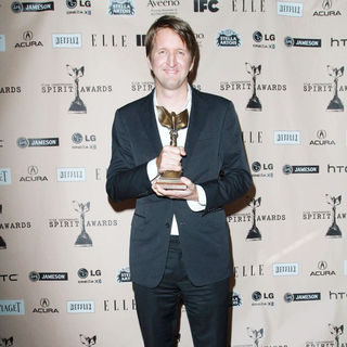 Tom Hooper in The 2011 Film Independent Spirit Awards - Press Room