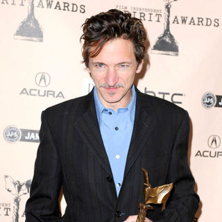 John Hawkes in The 2011 Film Independent Spirit Awards - Press Room