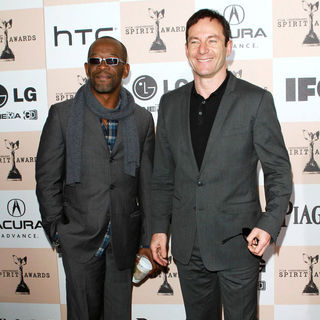 Lennie James, Jason Isaacs in The 2011 Film Independent Spirit Awards - Arrivals