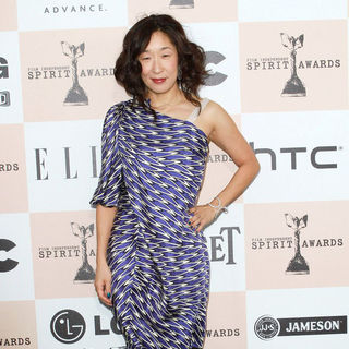 Sandra Oh in The 2011 Film Independent Spirit Awards - Arrivals