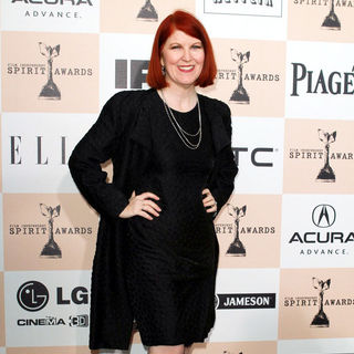 Kate Flannery in The 2011 Film Independent Spirit Awards - Arrivals