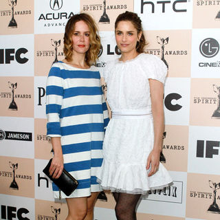 Sarah Paulson, Amanda Peet in The 2011 Film Independent Spirit Awards - Arrivals