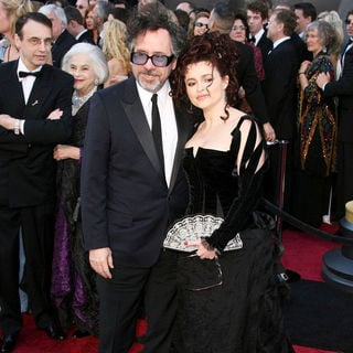 Tim Burton, Helena Bonham Carter in 83rd Annual Academy Awards (Oscars) - Arrivals