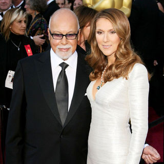 Rene Angelil, Celine Dion in 83rd Annual Academy Awards (Oscars) - Arrivals