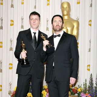 Atticus Ross, Trent Reznor in 83rd Annual Academy Awards (Oscars) - Press Room