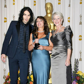 Russell Brand, Susanne Bier, Helen Mirren in 83rd Annual Academy Awards (Oscars) - Press Room