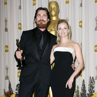 Christian Bale, Reese Witherspoon in 83rd Annual Academy Awards (Oscars) - Press Room