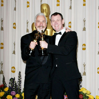 Rick Baker, Dave Elsey in 83rd Annual Academy Awards (Oscars) - Press Room