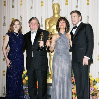 Amy Adams, Kirk Simon, Karen Goodman, Jake Gyllenhaal in 83rd Annual Academy Awards (Oscars) - Press Room