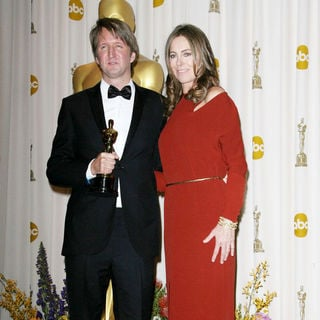 Tom Hooper, Kathryn Bigelow in 83rd Annual Academy Awards (Oscars) - Press Room