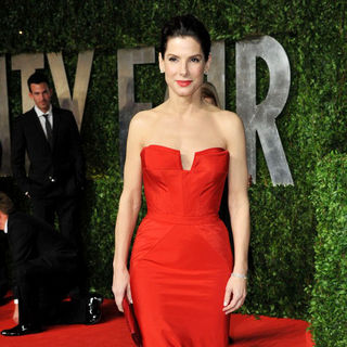 Sandra Bullock in 2011 Vanity Fair Oscar Party - Arrivals