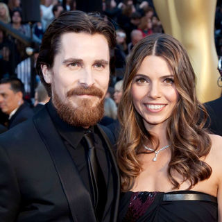 Christian Bale, Sibi Blazic in 83rd Annual Academy Awards (Oscars) - Arrivals