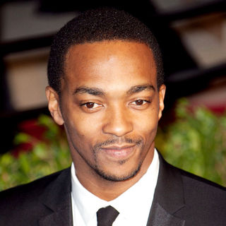 Anthony Mackie in 2011 Vanity Fair Oscar Party - Arrivals