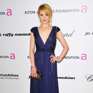 Dianna Agron in 19th Annual Elton John AIDS Foundation Academy Awards Viewing Party - Arrivals