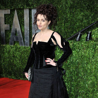 Helena Bonham Carter in 2011 Vanity Fair Oscar Party - Arrivals