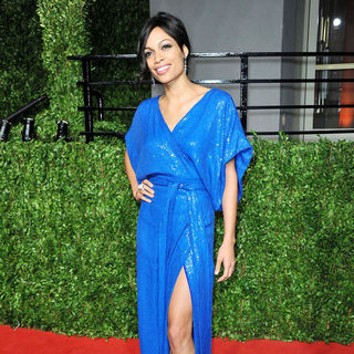 Rosario Dawson in 2011 Vanity Fair Oscar Party - Arrivals
