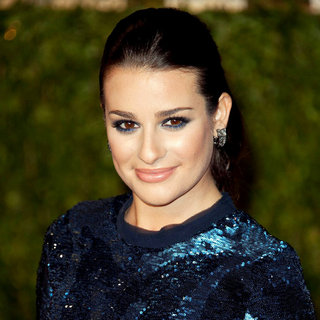 Lea Michele in 2011 Vanity Fair Oscar Party - Arrivals