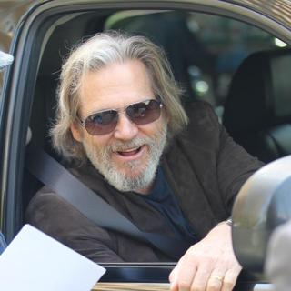 Jeff Bridges in Jeff Bridges Leaving His Hotel in Hollywood