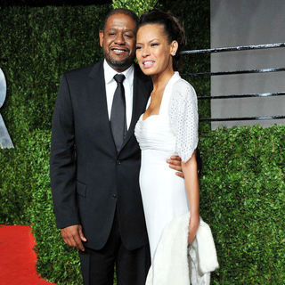Forest Whitaker, Keisha Nash in 2011 Vanity Fair Oscar Party - Arrivals