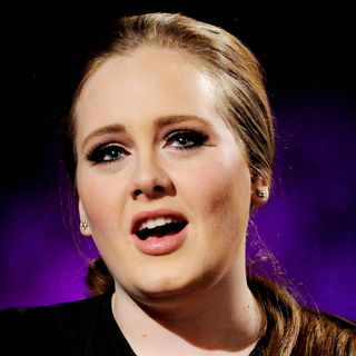 Adele in Adele Appears on 'MTV Live'