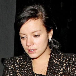 Lily Allen in Lily Allen Leaves The Groucho Club at 2:30 AM
