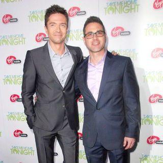 "Topher Grace, Gordon Kaywin in Relativity Media Presents The Premiere of ""Take Me Home Tonight"""