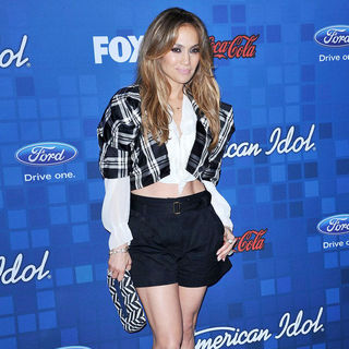 Jennifer Lopez - The American Idol Season 10 Top 13 Finalists Party