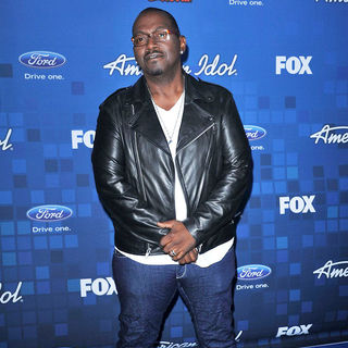 Randy Jackson in The American Idol Season 10 Top 13 Finalists Party