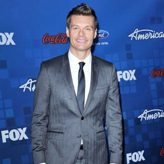 Ryan Seacrest in The American Idol Season 10 Top 13 Finalists Party