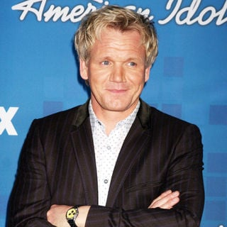 Gordon Ramsay in The American Idol Season 10 Top 13 Finalists Party