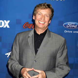 Nigel Lythgoe in The American Idol Season 10 Top 13 Finalists Party