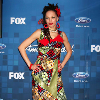 Naima Adedapo in The American Idol Season 10 Top 13 Finalists Party