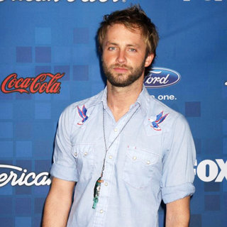 Paul McDonald in The American Idol Season 10 Top 13 Finalists Party
