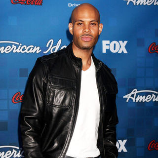 Todd Williams in The American Idol Season 10 Top 13 Finalists Party