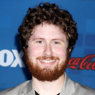 Casey Abrams in The American Idol Season 10 Top 13 Finalists Party