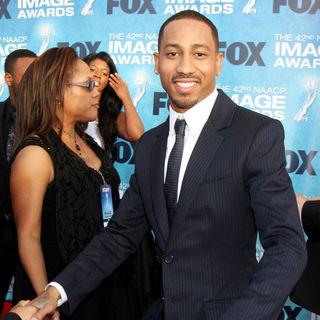 Brandon T. Jackson in 42nd NAACP Image Awards - Arrivals - wenn3236944